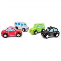 Houten autootjes, New Classic Toys