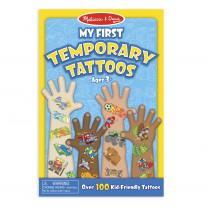 Mijn eerste tattoos blauw, Melissa & Doug