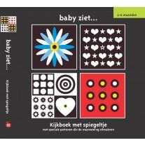 Baby ziet: kijkboek met spiegeltje