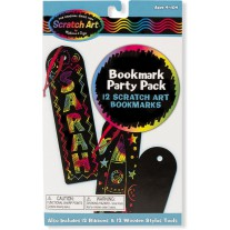Scratch Art Party Pack boekenleggers, Melissa & Doug