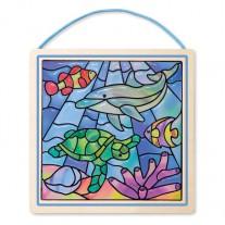 Glas in lood Oceaan, Melissa & Doug
