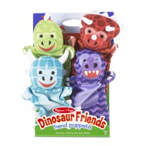 Handpoppen dino's, Melissa & Doug