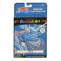 Scratch Art voertuigen, Melissa & Doug