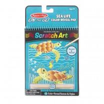 Scratch Art sea life, Melissa & Doug