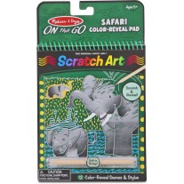 Scratch Art safari, Melissa & Doug