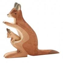 Kangoeroe met jong, Ostheimer