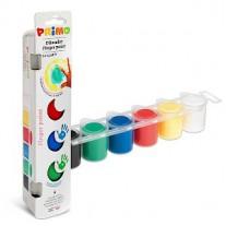 Vingerverf 6 kleuren, Primo