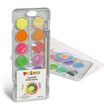 Waterverf 12 metallic & fluo kleuren, Primo
