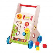 7 In 1 Walk and Play loopwagen, Lelin