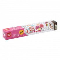 Plakpapier kleurplaat XL Magic Candy Land, Apli