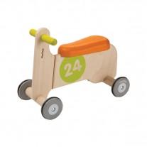 Loopfiets Ride-On oranje, Plan Toys
