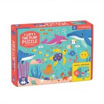 Ocean Party flapjespuzzel, Mudpuppy