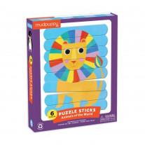 Puzzel sticks Animals of the World, Mudpuppy