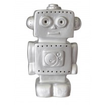Led-lamp robot zilver, Egmont Toys