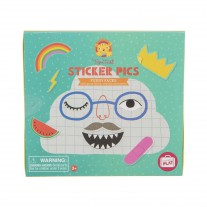 Sticker pics Funny Faces, Tiger Tribe