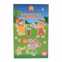 Fabulous Felt Jungle Party, Tiger Tribe