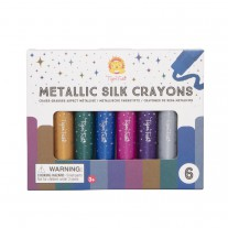 Metallic Silk Crayons stiften, Tiger Tribe