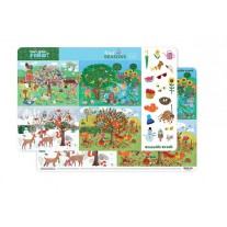 Placemat Seizoenen, Crocodile Creek
