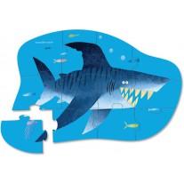 Puzzel haai 12 st, Crocodile Creek