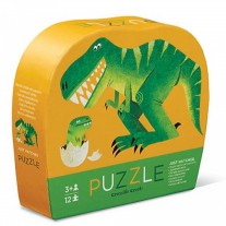 Puzzel dino 12 st, Crocodile Creek