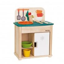 Sink & Fridge minikeukentje, Plan Toys