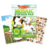 Stickermozaiek Natuur, Melissa & Doug