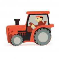 Houten tractor, Tender Leaf Toys