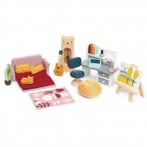 Studeerkamer poppenhuis, Tender Leaf Toys