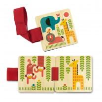 Houten buggyboekje Safari, Petit Collage