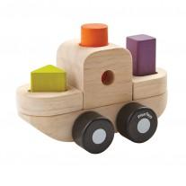 Sorteerpuzzel boot, Plan Toys