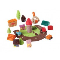 Build-A-Town kleivormen, Plan Toys