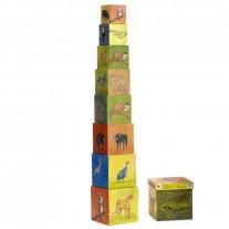 Stapeltoren jungledieren, Egmont Toys