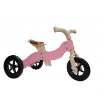 Dijk-trike roze 2-1 loopfiets, Van Dijk
