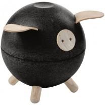 Spaarvarken zwart, Plan toys