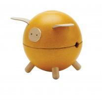 Spaarvarken geel, Plan Toys