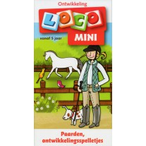 Loco Mini Paarden ontwikkelingsspelletjes