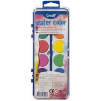Waterverf 12 kleuren, Creall