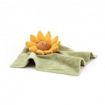 Knuffeldoekje Fleury zonnebloem, Jellycat