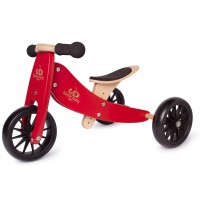 Tiny Tot 2-in-1 loopfiets Cherry Red, Kinderfeets