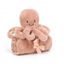 Knuffeldoekje Odell octopus, Jellycat