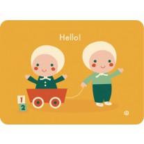 Ansichtkaart Hello!, Bora