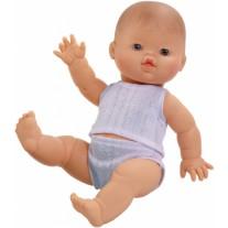 Babypop blanke jongen met ondergoed, Paola Reina