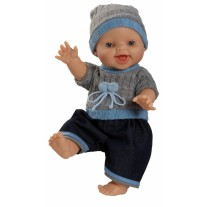 Babypop Bruno met kleding, Paola Reina