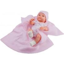 Babypop meisje met deken, Paola Reina Mini Pikolines