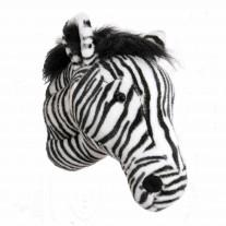 Dierenkop zebra Daniel, Wild & Soft