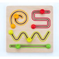 Schuifpuzzel 4 vormen, Engelhart