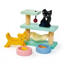 Huisdierenset katten, Tender Leaf Toys
