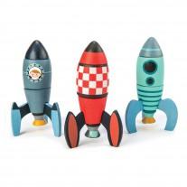 Rocket construction, Tender Leaf Toys