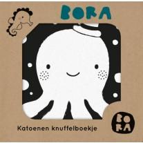 Katoenen knuffelboekje In het water, Bora