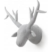 Dierenkop abstract hert James, Wild & Soft